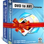 Download and buy with discount: 4Videosoft DVD to AVI Suite.