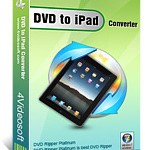 Download and buy with discount: 4Videosoft DVD to iPad Converter.