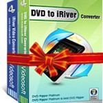 Download and buy with discount: 4Videosoft DVD to iRiver Suite.