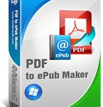 Download and buy with discount: 4Videosoft PDF to ePub Maker.