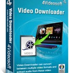 Download and buy with discount: 4Videosoft Video Downloader.